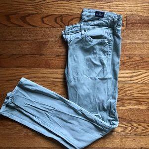 Green AG cigarette leg jeans sz28